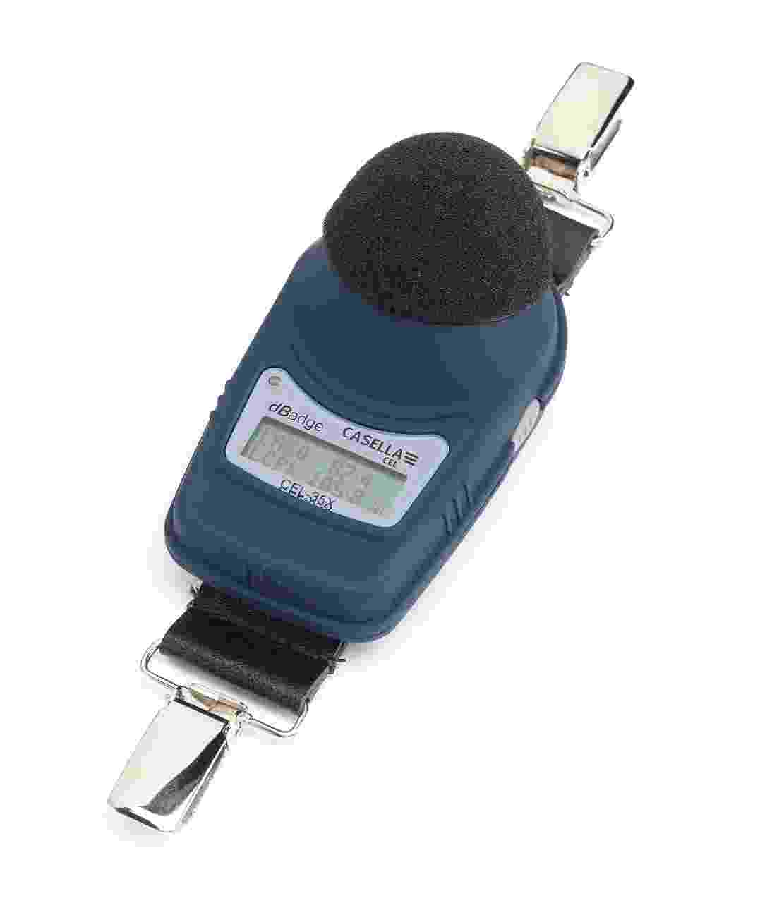 The dbadge2 is ideal for making noise exposure measurements. It is a shoulder worn dose meter that measures all workplace parameters simultaneously.